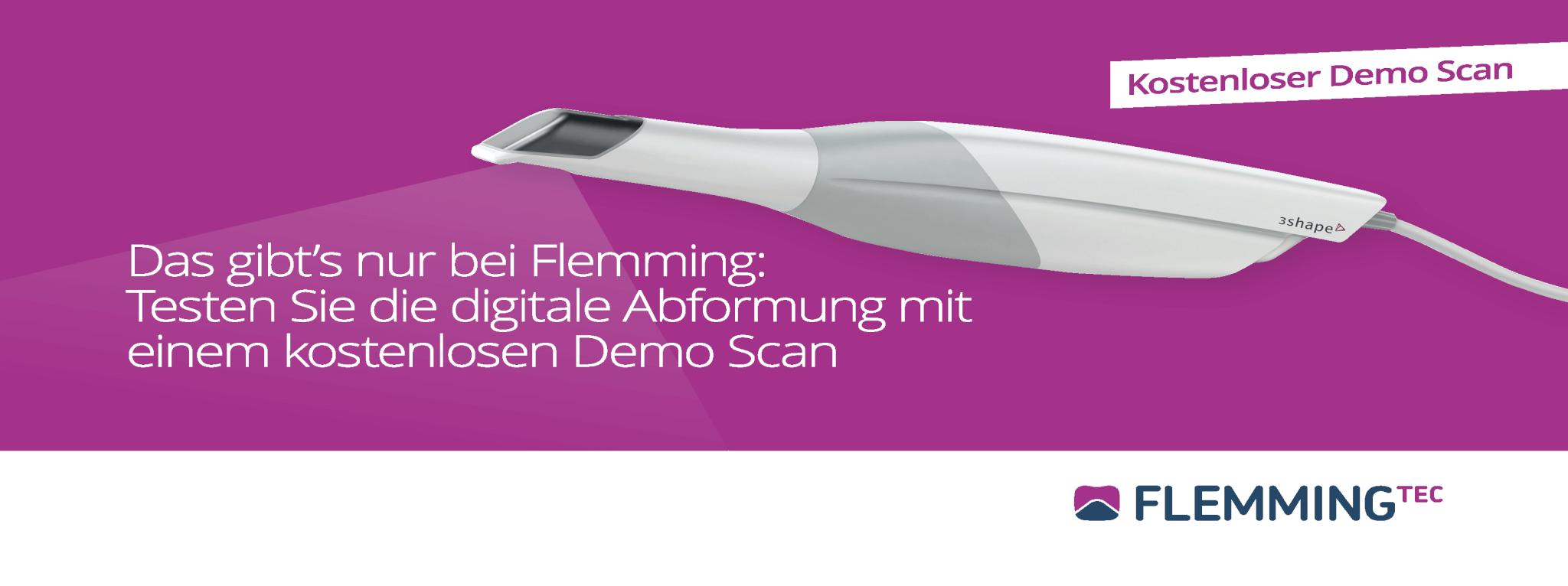 Demo Scan mit Flemming