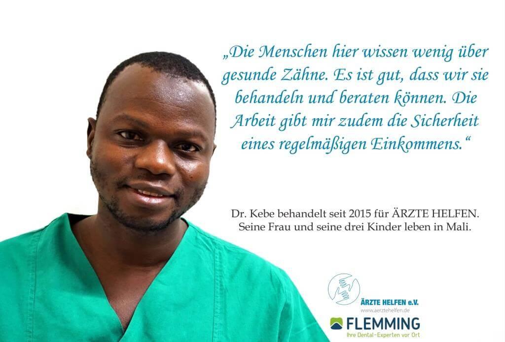 Aerzte Helfen Flemming Dental Dr.Kebe